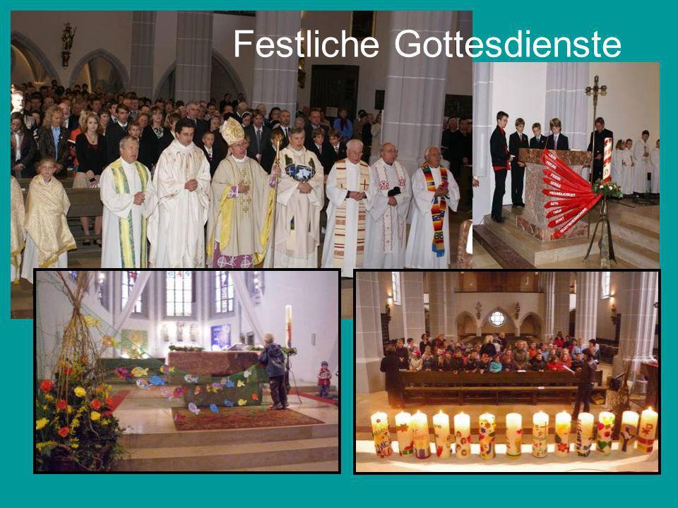 Festliche Gottesdienste