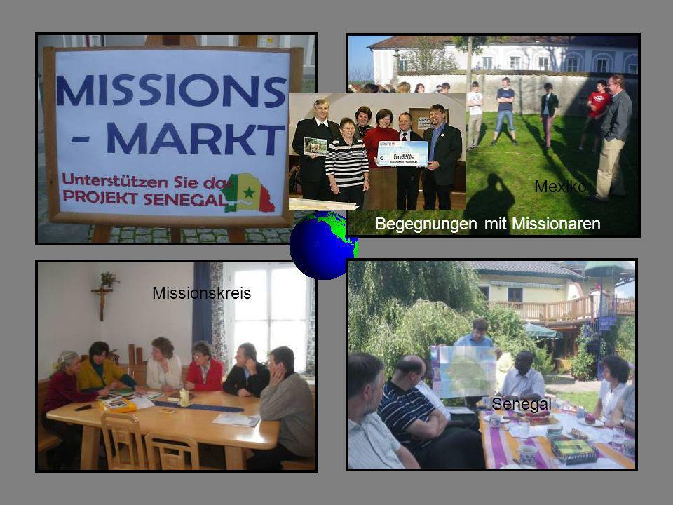 Mexiko Begegnungen mit Missionaren Missionskreis Senegal