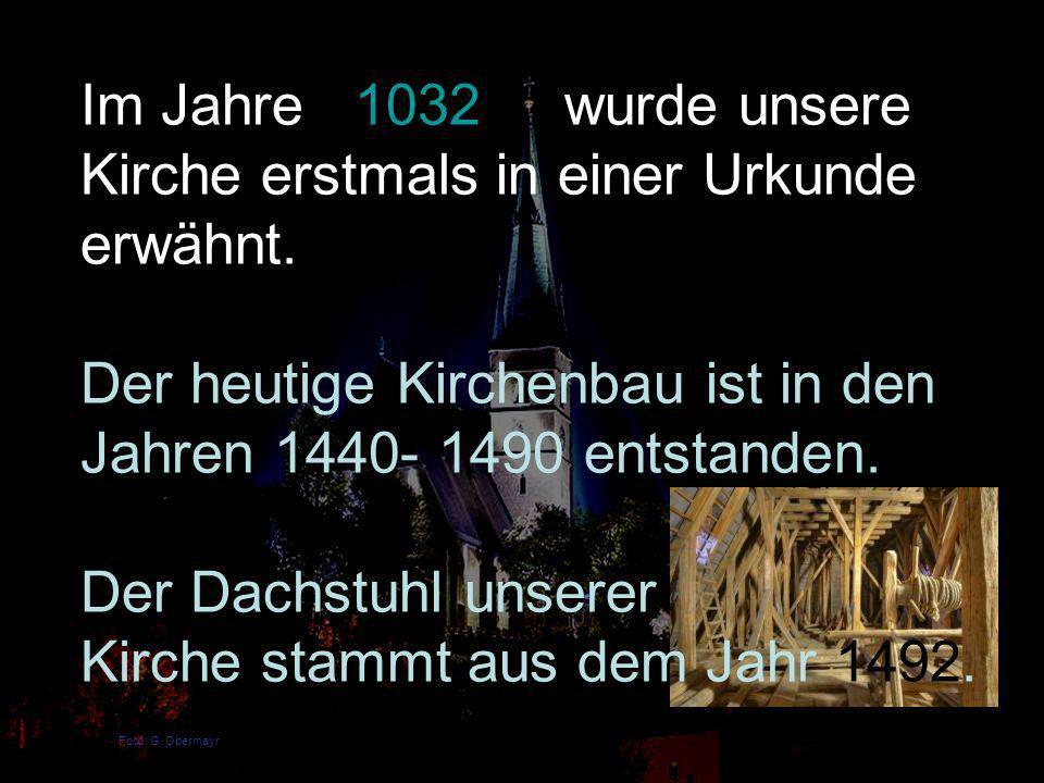 Kirche erstmals in einer Urkunde erwähnt.