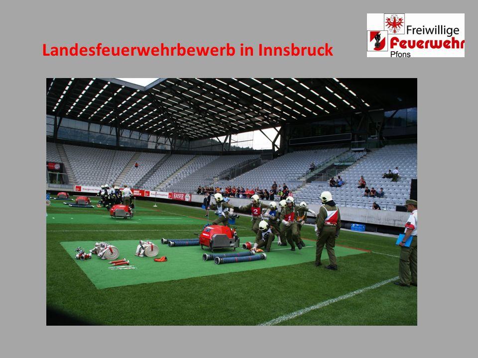 Landesfeuerwehrbewerb in Innsbruck