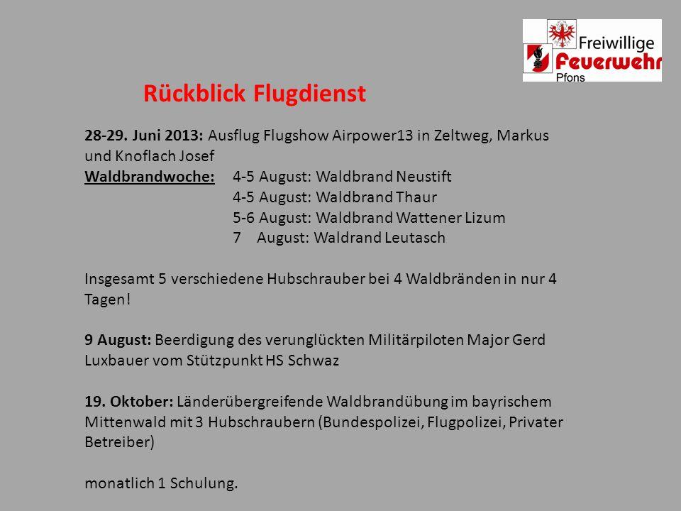 Rückblick Flugdienst 28-29. Juni 2013: Ausflug Flugshow Airpower13 in Zeltweg, Markus und Knoflach Josef.
