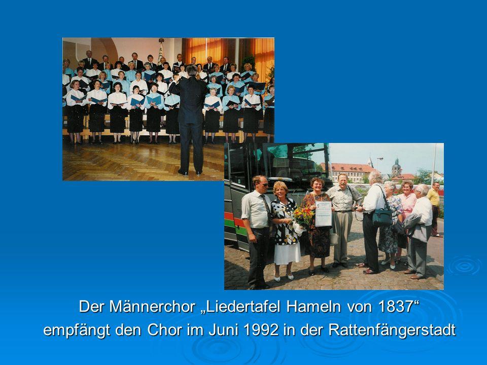"""Der Männerchor """"Liedertafel Hameln von 1837"""