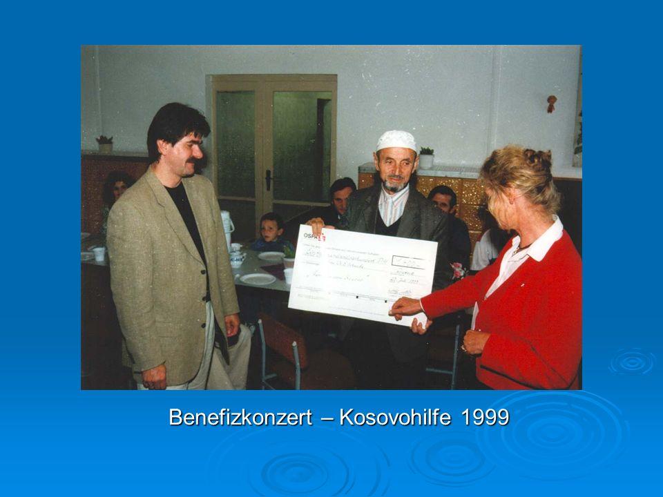 Benefizkonzert – Kosovohilfe 1999