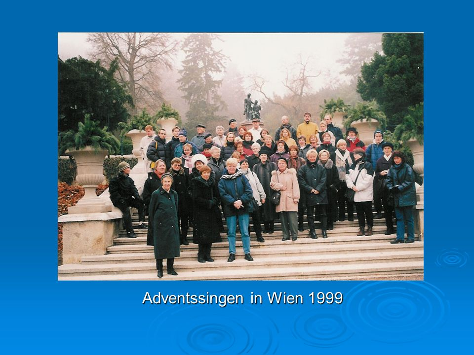 Adventssingen in Wien 1999