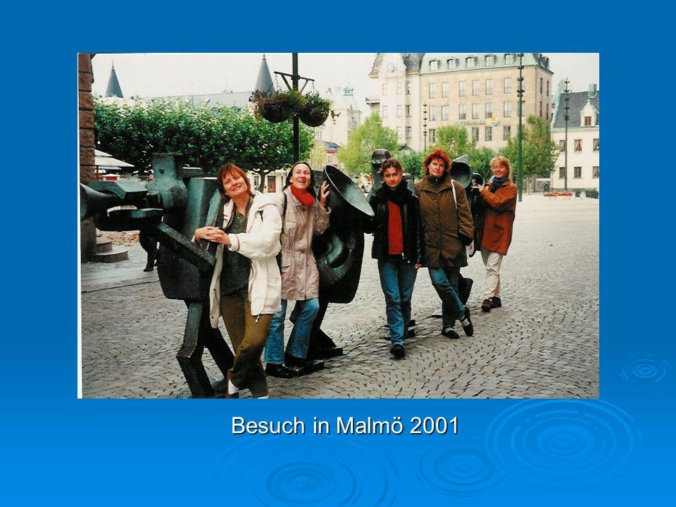 Besuch in Malmö 2001