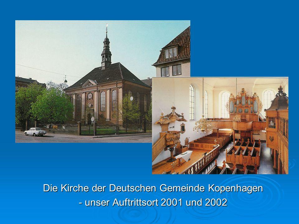 Die Kirche der Deutschen Gemeinde Kopenhagen