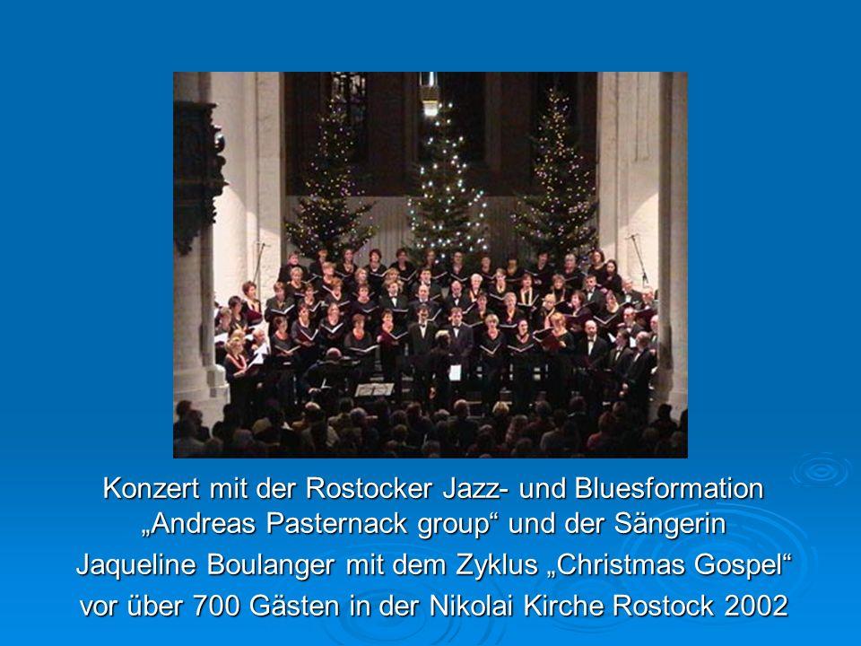 "Jaqueline Boulanger mit dem Zyklus ""Christmas Gospel"