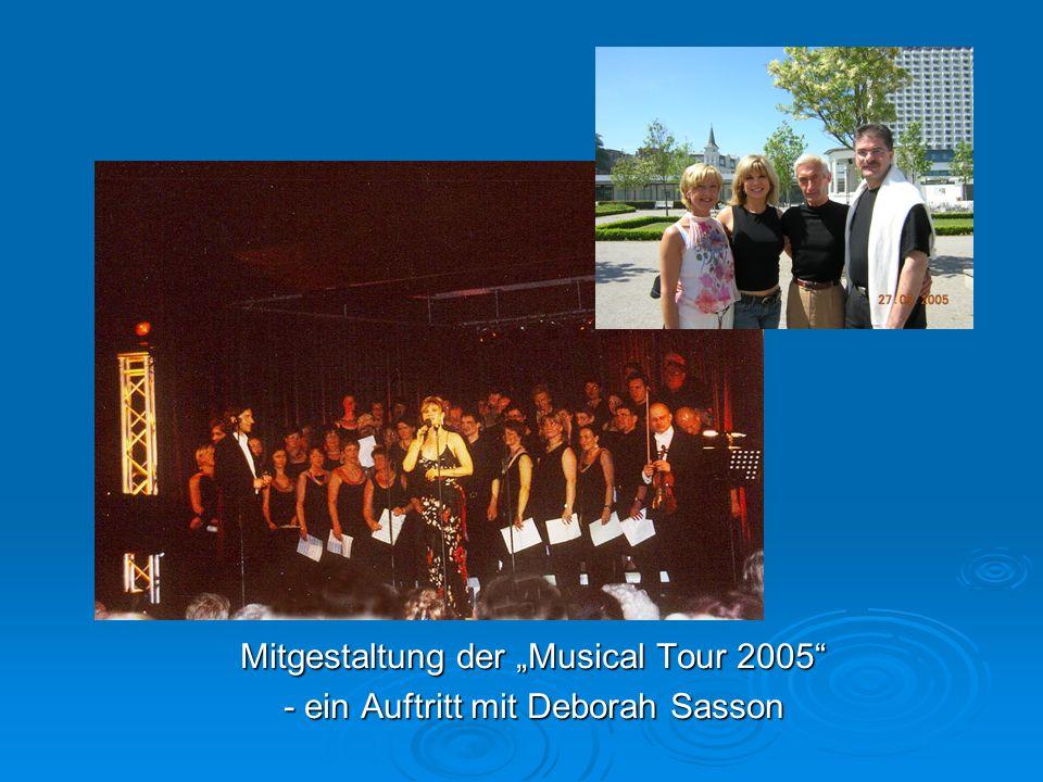 """Mitgestaltung der """"Musical Tour 2005"""