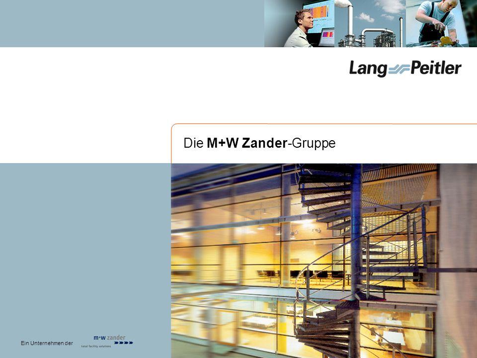 Die M+W Zander-Gruppe Ein Unternehmen der