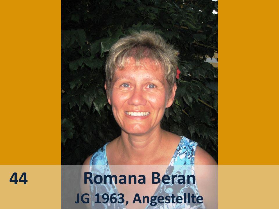 44 Romana Beran JG 1963, Angestellte