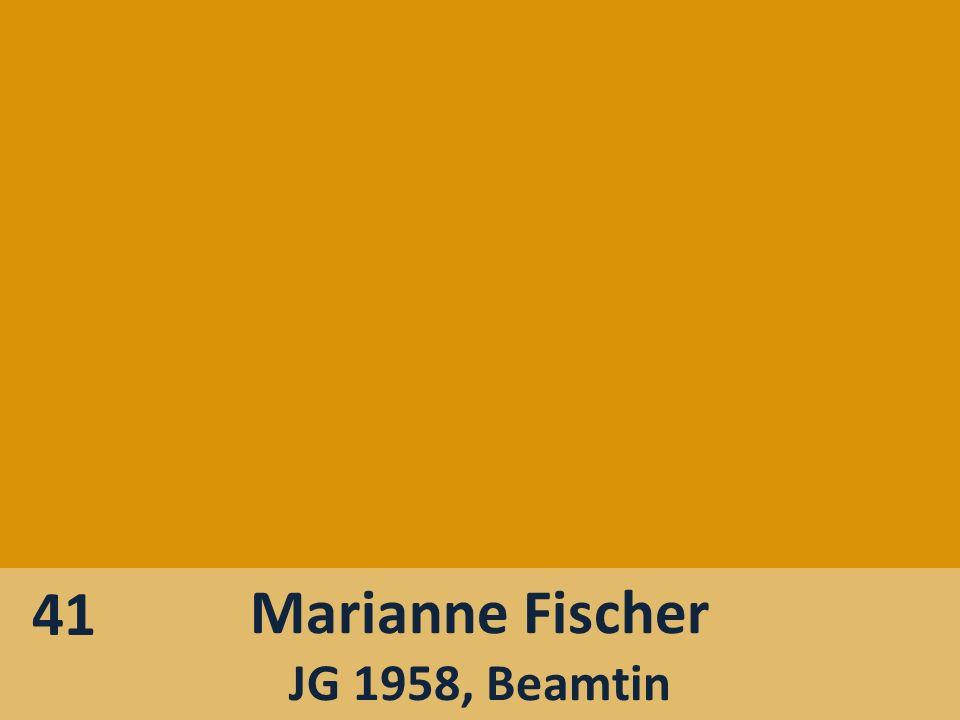 41 Marianne Fischer JG 1958, Beamtin