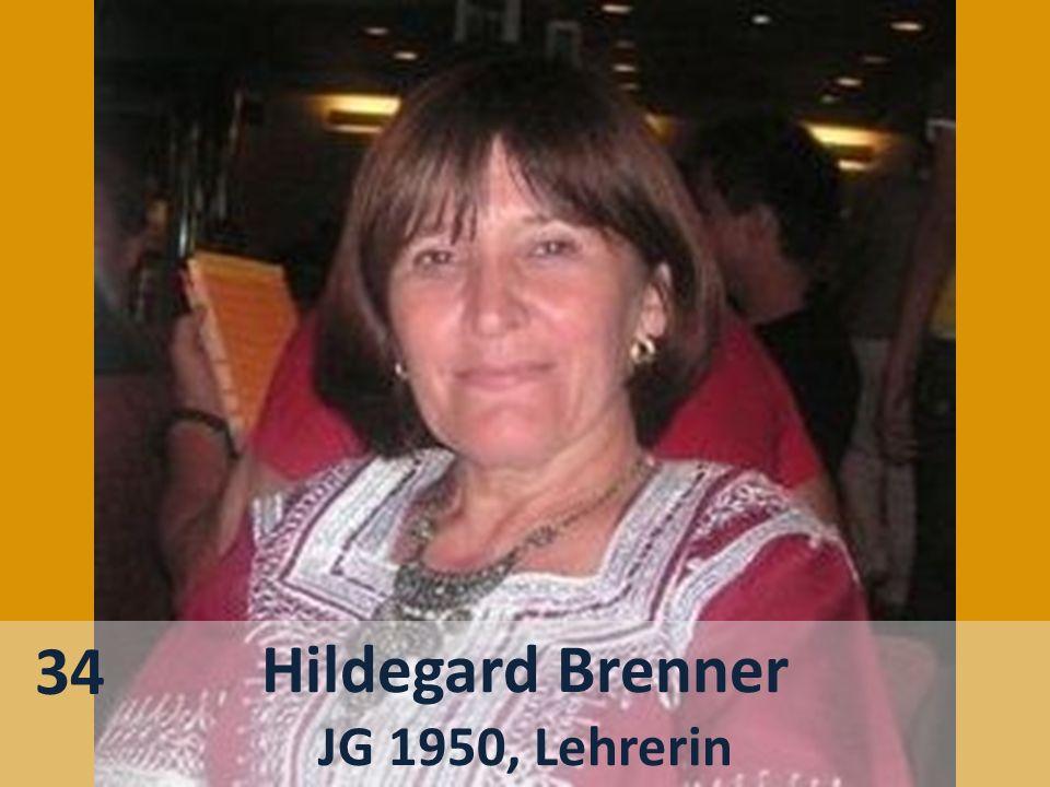 34 Hildegard Brenner JG 1950, Lehrerin