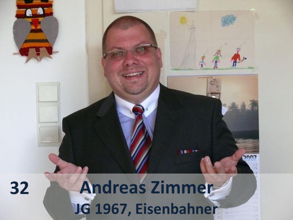 32 Andreas Zimmer JG 1967, Eisenbahner