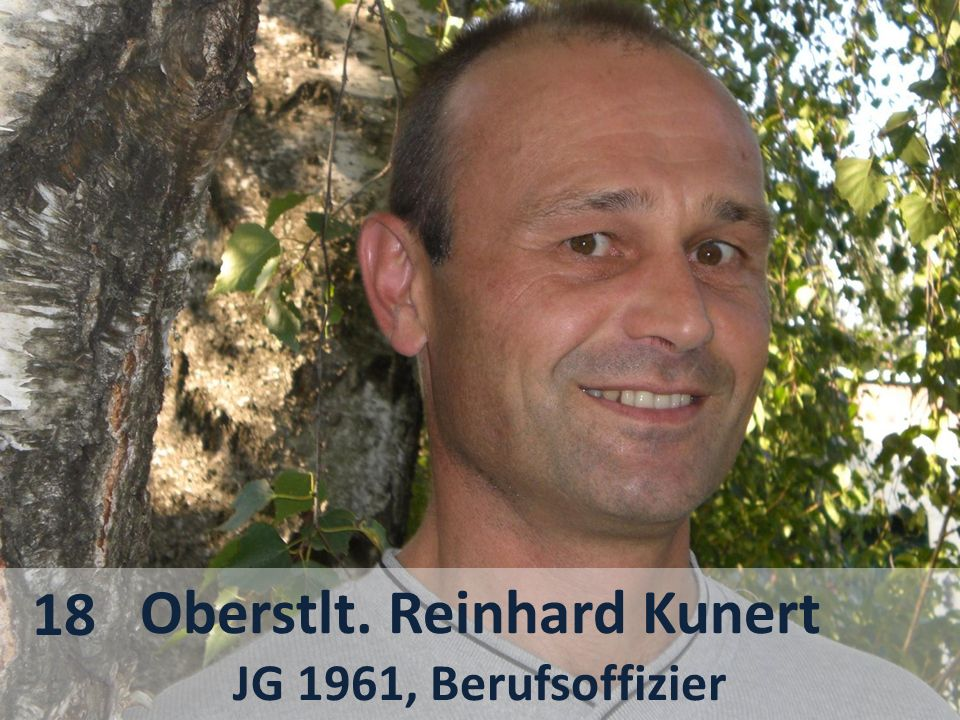 Oberstlt. Reinhard Kunert