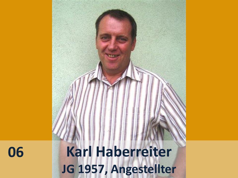 06 Karl Haberreiter JG 1957, Angestellter