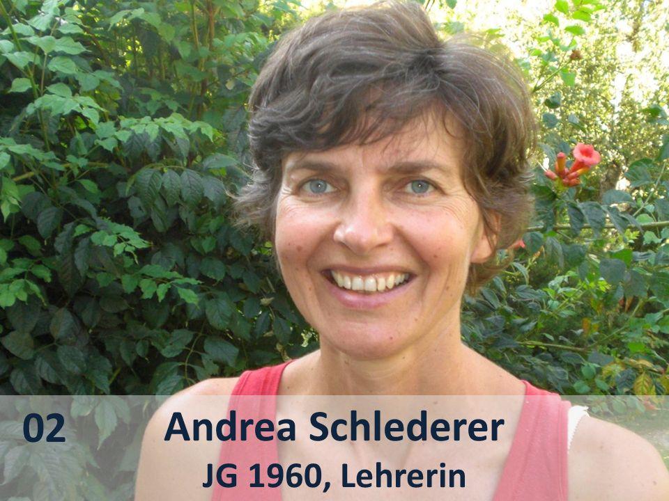 02 Andrea Schlederer JG 1960, Lehrerin