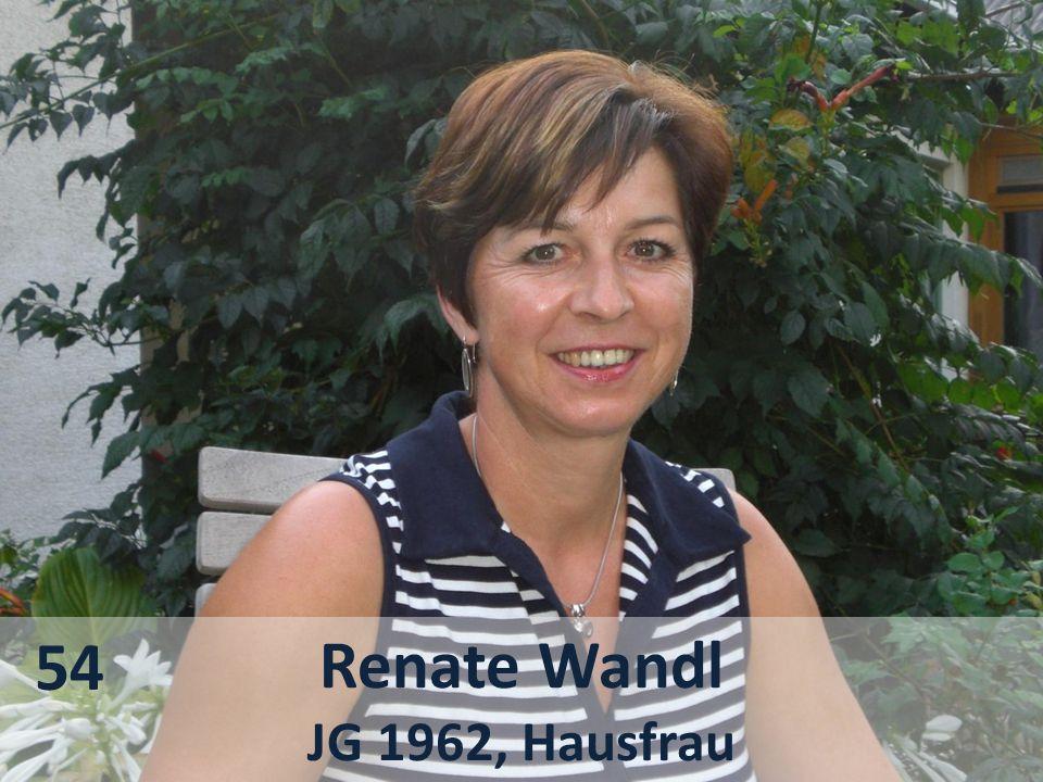 54 Renate Wandl JG 1962, Hausfrau