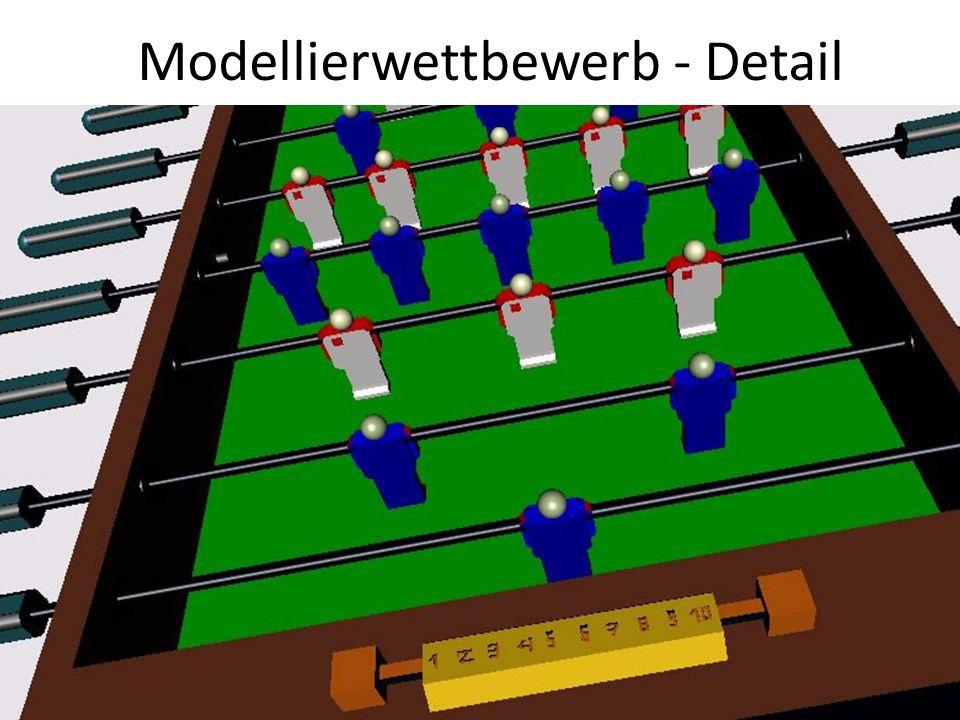Modellierwettbewerb - Detail