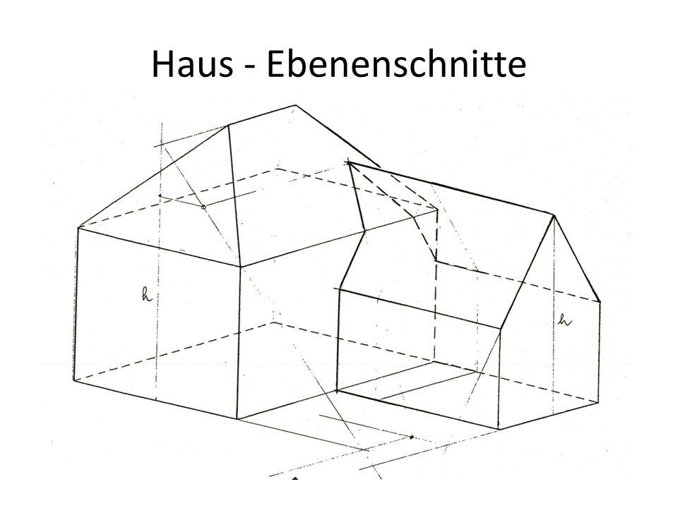 Haus - Ebenenschnitte