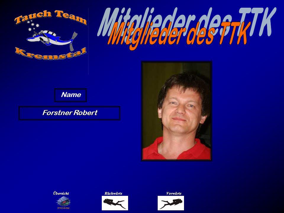Mitglieder des TTK Name Gassenbauer Renate Übersicht Rückwärts