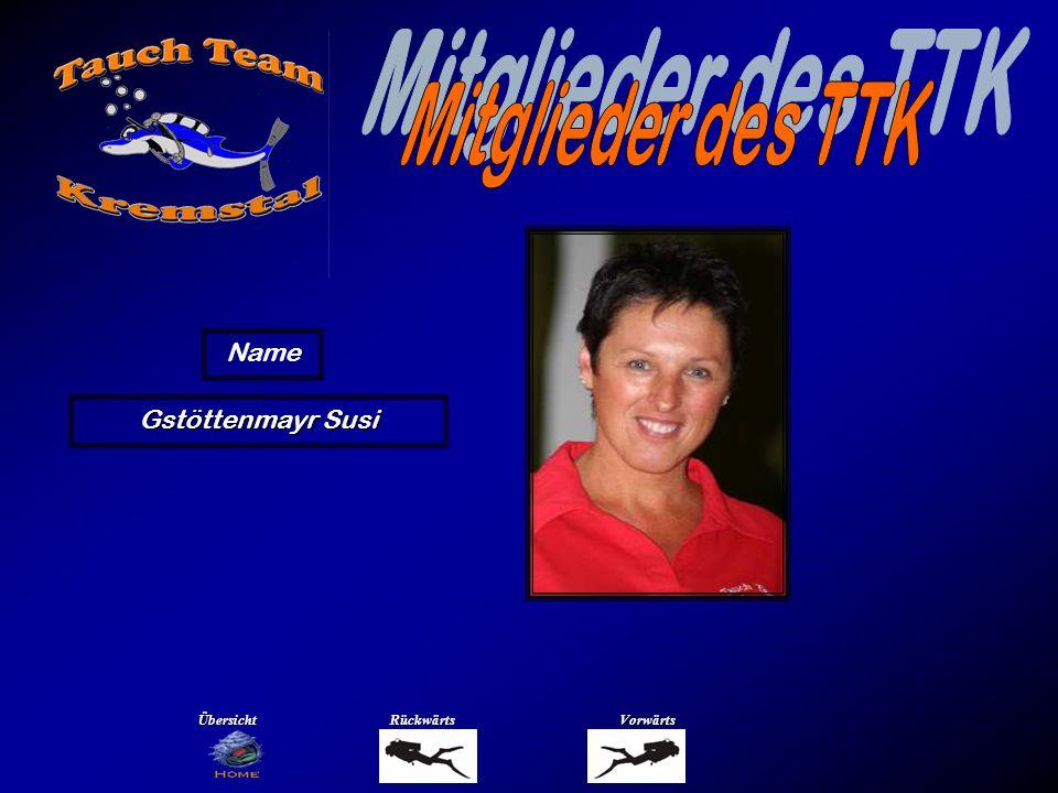 Mitglieder des TTK Name Habernek Hans Übersicht Rückwärts Vorwärts