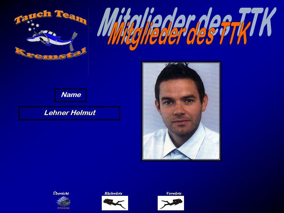 Mitglieder des TTK Name Lehner Susanne Übersicht Rückwärts Vorwärts