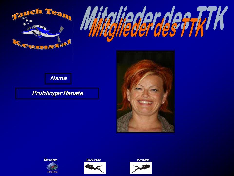 Mitglieder des TTK Name Rebhandl Isabella Übersicht Rückwärts Vorwärts