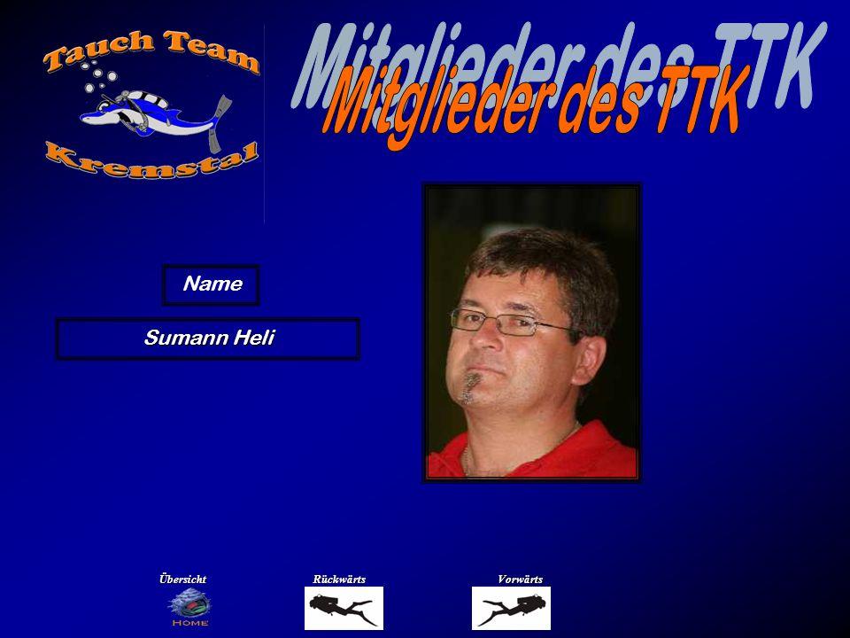 Mitglieder des TTK Name Trautmann Manfred Übersicht Rückwärts Vorwärts