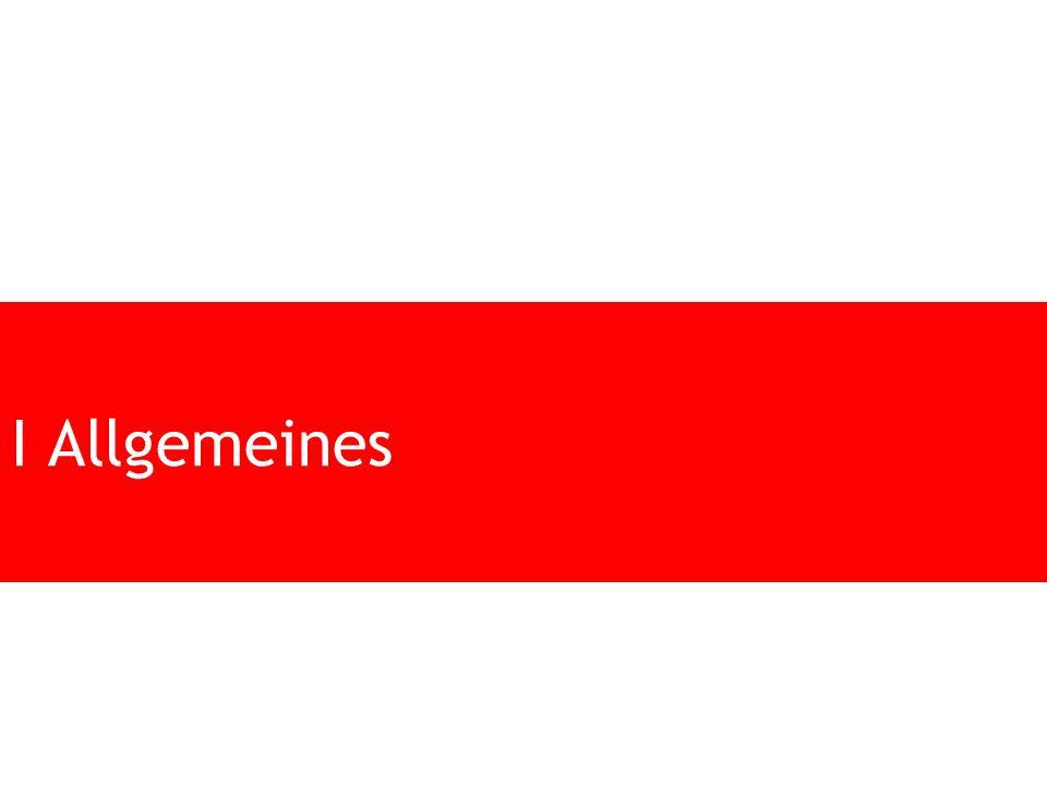 I Allgemeines