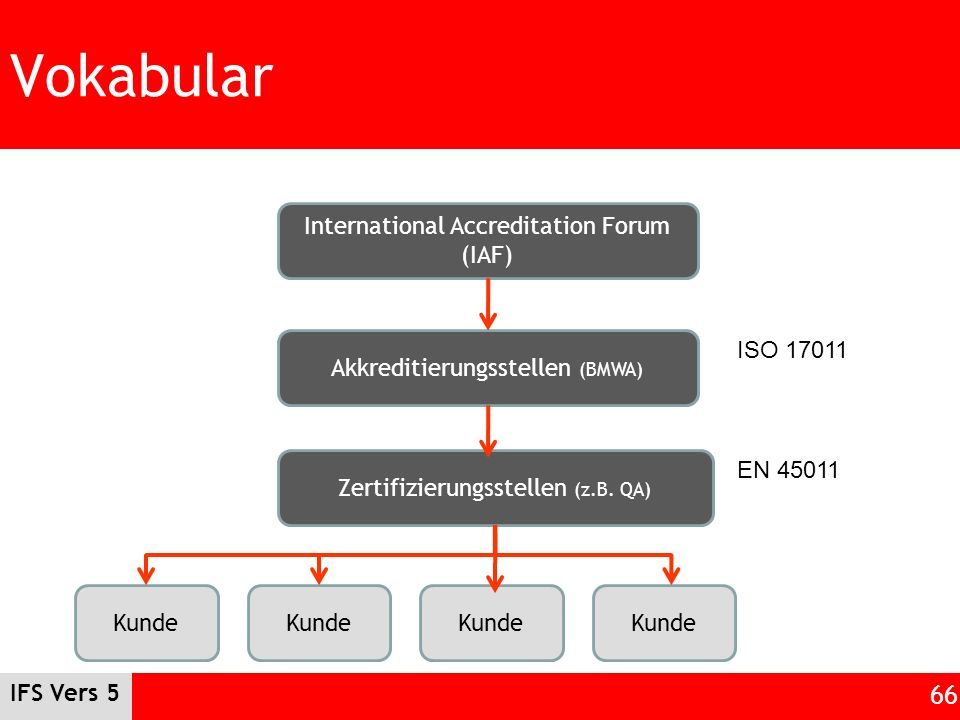 Vokabular International Accreditation Forum (IAF)