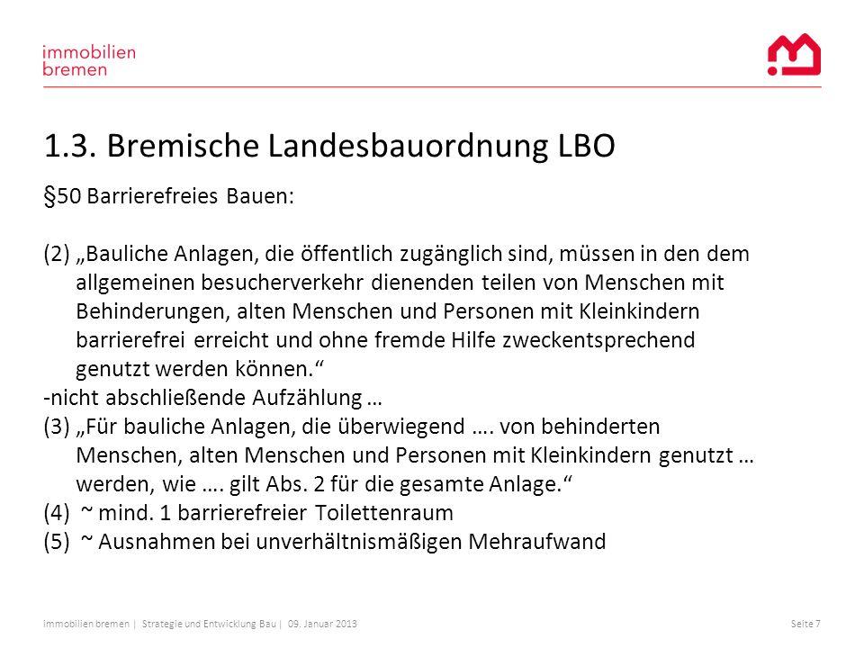 1.3. Bremische Landesbauordnung LBO