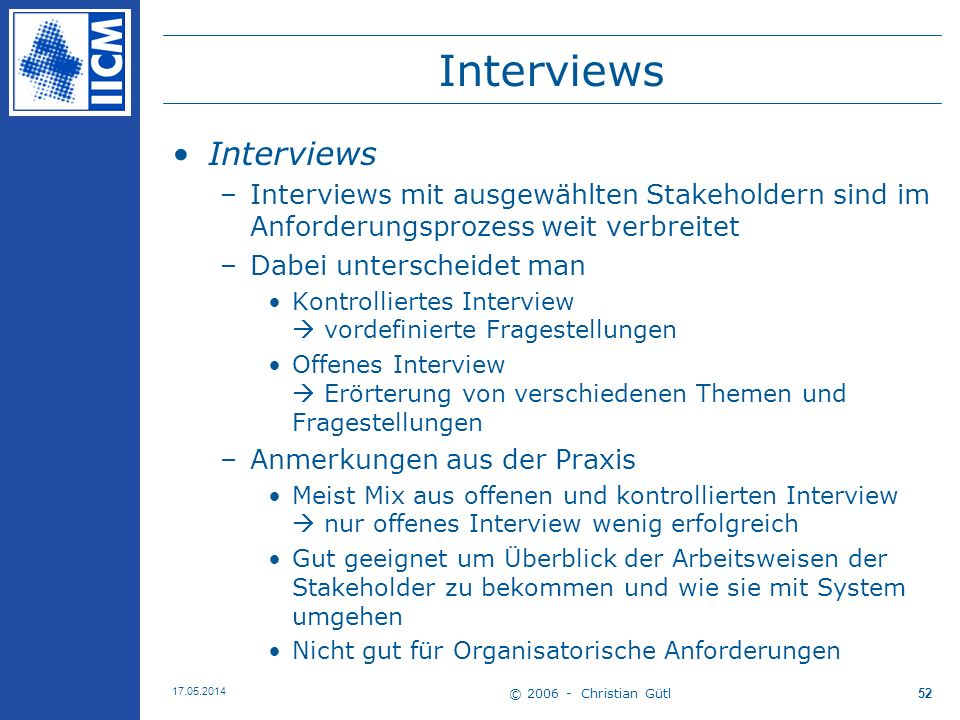 Interviews Interviews