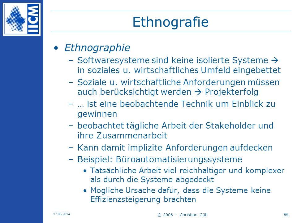 Ethnografie Ethnographie
