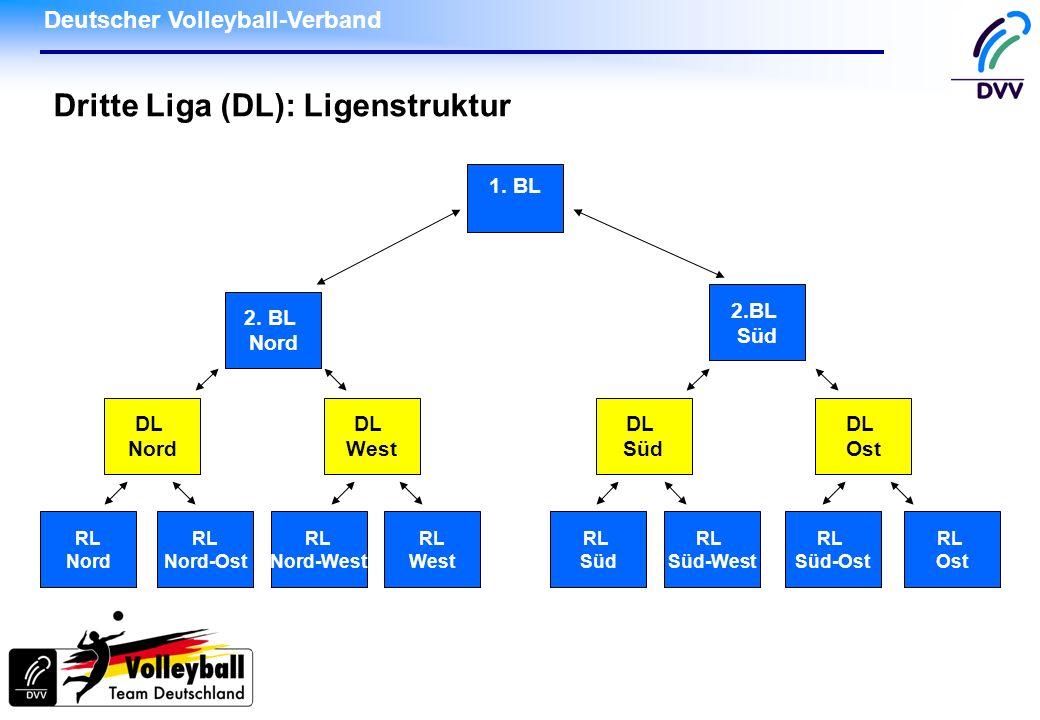 Dritte Liga (DL): Ligenstruktur