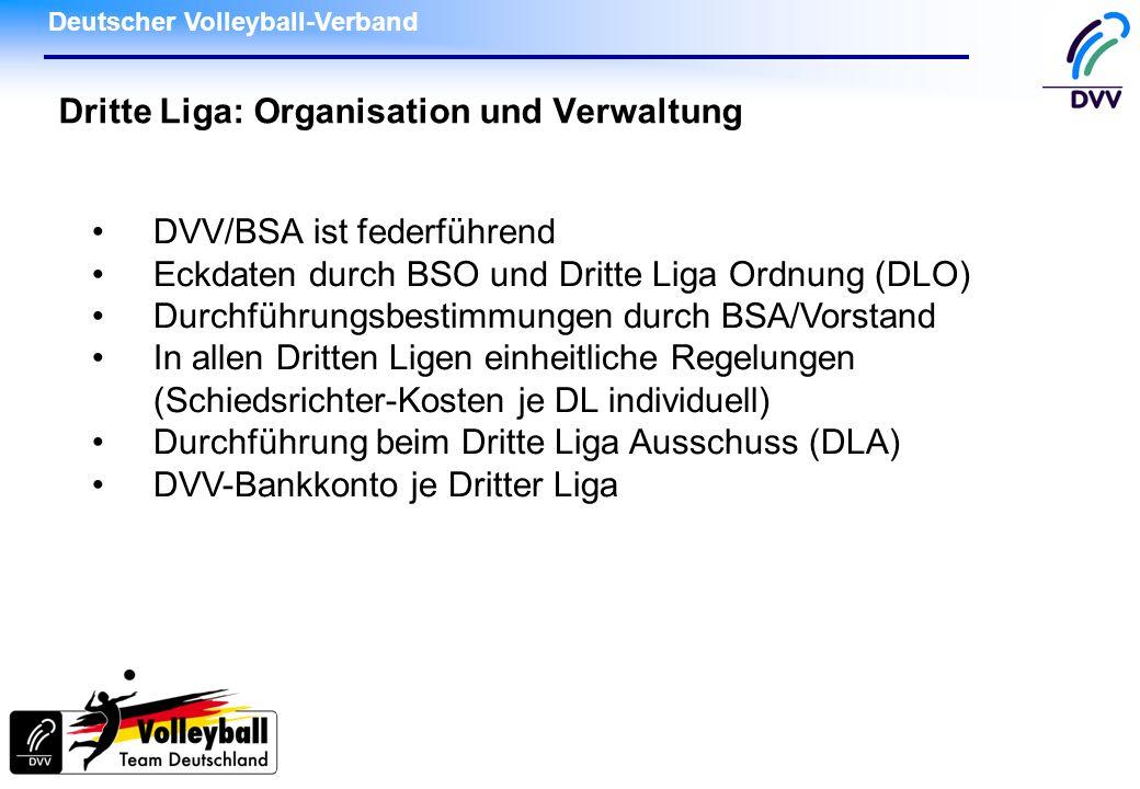 Dritte Liga: Organisation und Verwaltung
