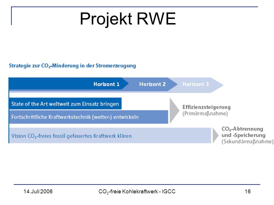 CO2-freie Kohlekraftwerk - IGCC