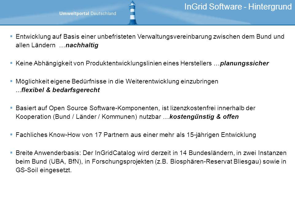 InGrid Software - Hintergrund
