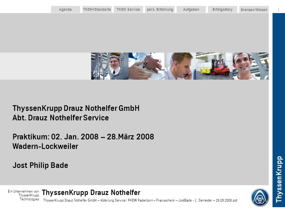 ThyssenKrupp Drauz Nothelfer GmbH Abt
