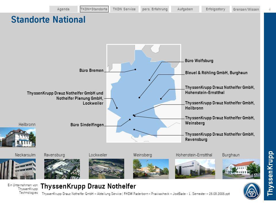 Standorte National Büro Wolfsburg Büro Bremen
