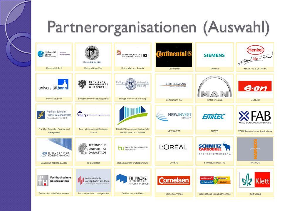 Partnerorganisationen (Auswahl)