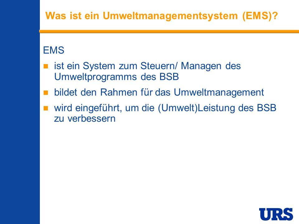 Was ist ein Umweltmanagementsystem (EMS)