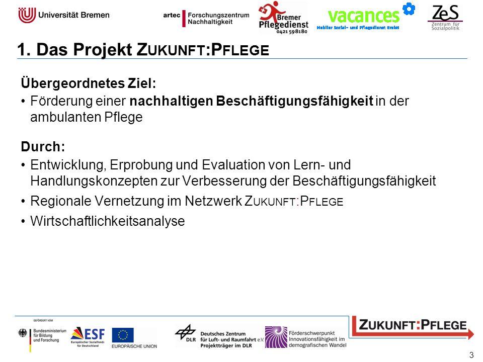 1. Das Projekt Zukunft:Pflege