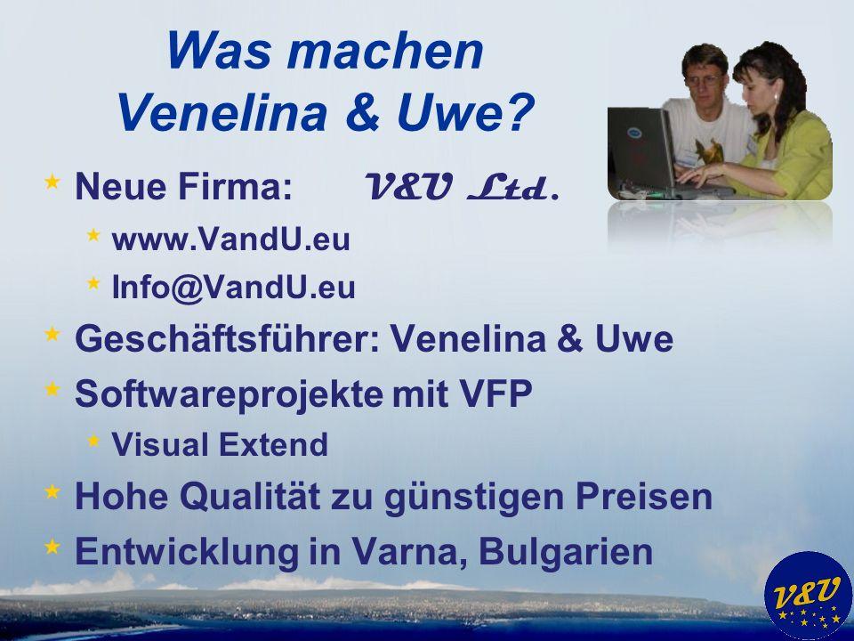 Was machen Venelina & Uwe