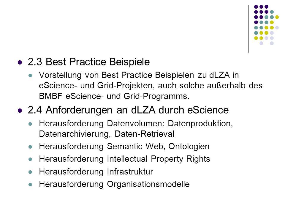2.3 Best Practice Beispiele