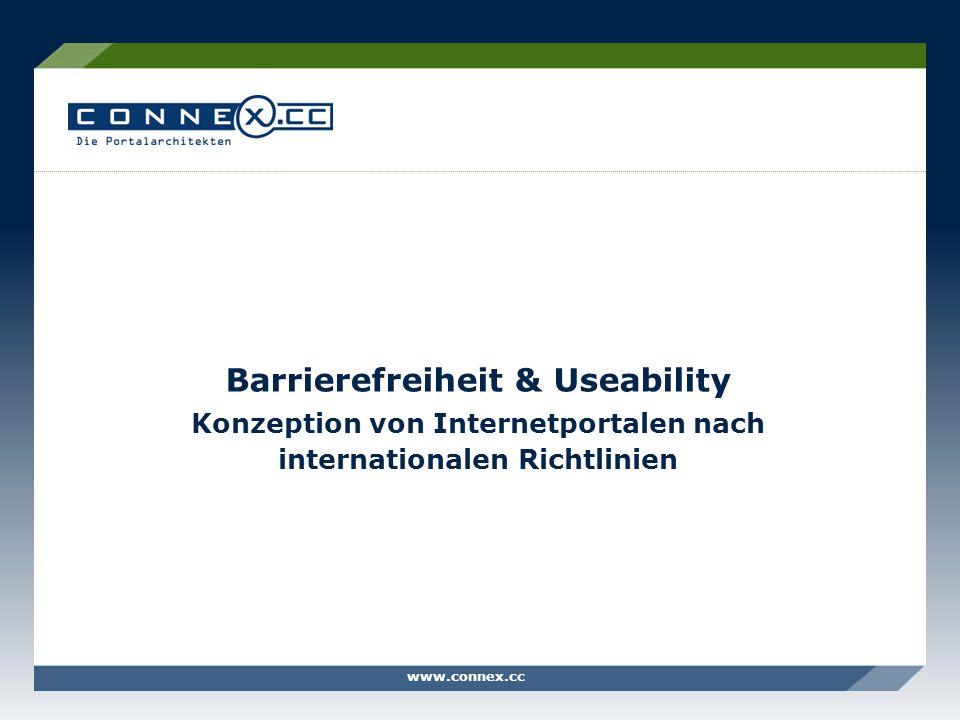 Barrierefreiheit & Useability