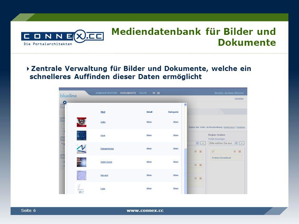 Mediendatenbank für Bilder und Dokumente