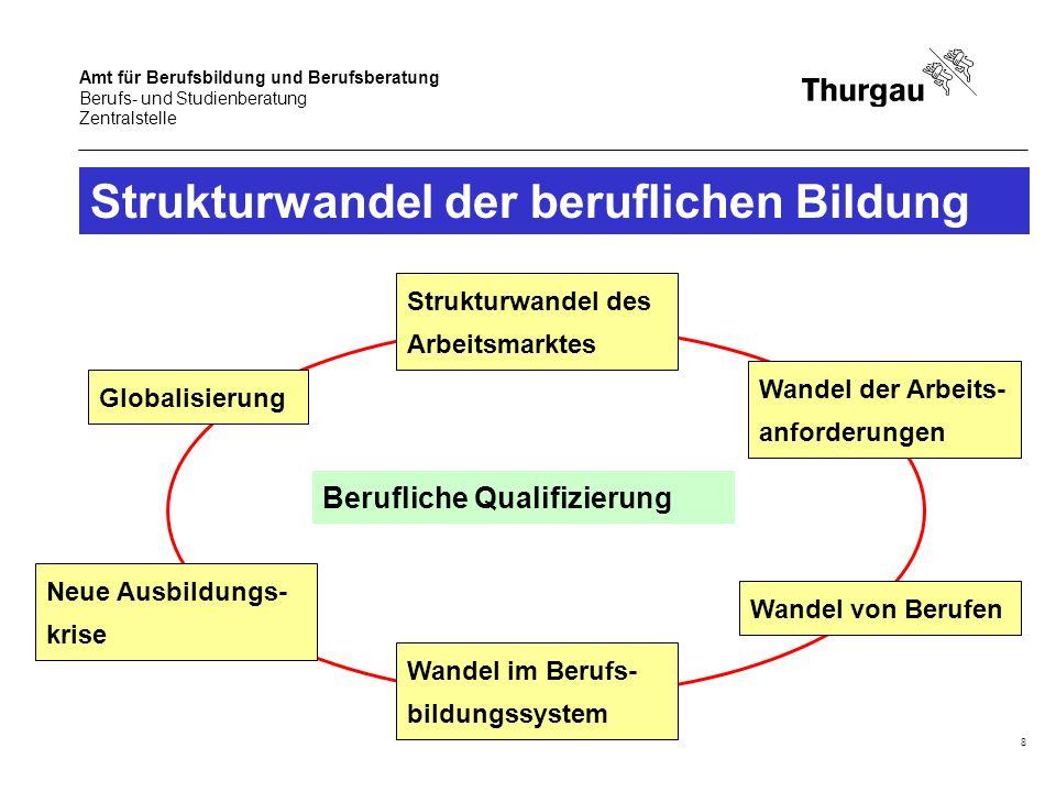Strukturwandel der beruflichen Bildung