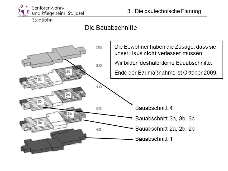 3. Die bautechnische Planung