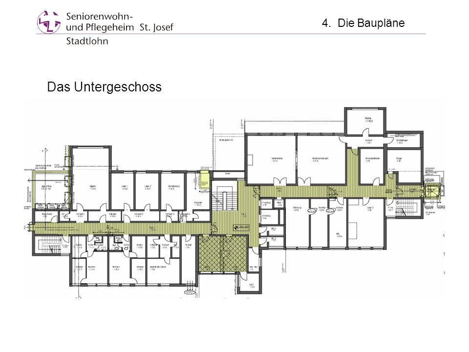 4. Die Baupläne Das Untergeschoss