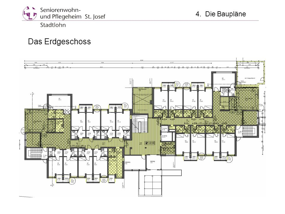 4. Die Baupläne Das Erdgeschoss
